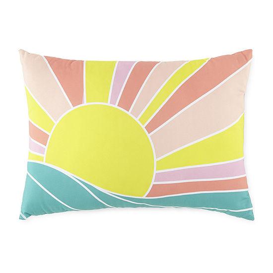Outdoor Oasis Rectangular Outdoor Pillow