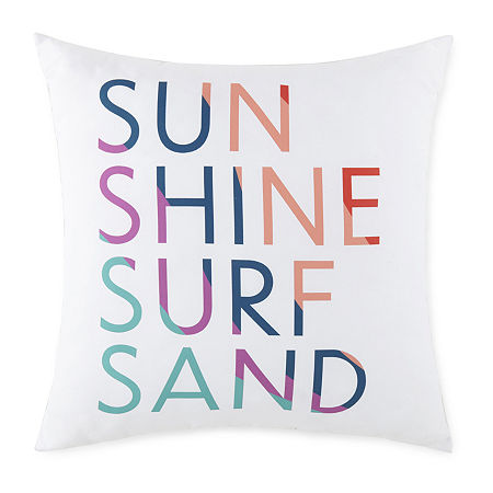 Outdoor Oasis Square Outdoor Pillow, One Size , Multiple Colors