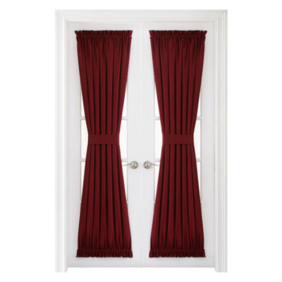 Supreme Rod-Pocket Lined Door Panel