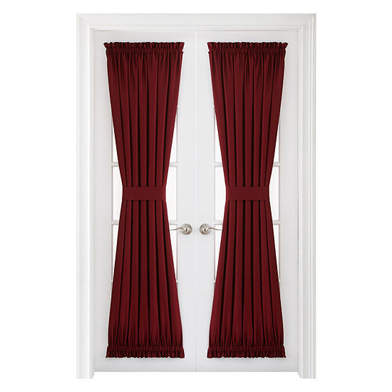 Royal Velvet Supreme Energy Saving Rod-Pocket Door Panel Curtain