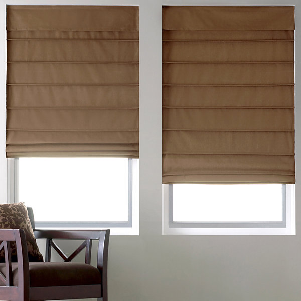 Jc Penneys Home Store: JCPenney Home™ Cotton Classic Thermal Roman Shade