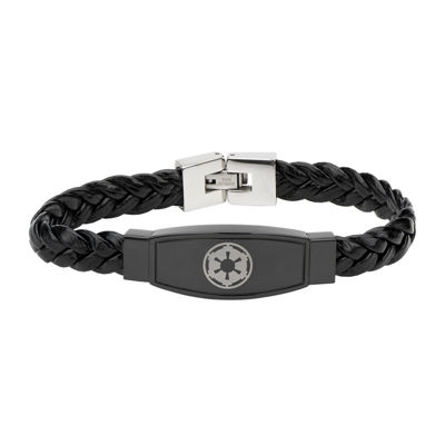 Star Wars® Imperial Crest Mens Stainless Steel Bracelet