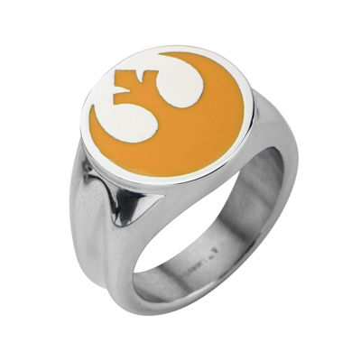 Star Wars® Rebel Symbol Mens Stainless Steel Ring