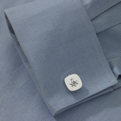 Masonic Emblem Cuff Links