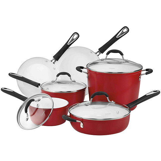 Cuisinart Elements 10 Pc Ceramic Cookware Set