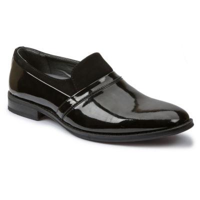 Giorgio Brutini Mens Patent Slip-On Tuxedo Shoes