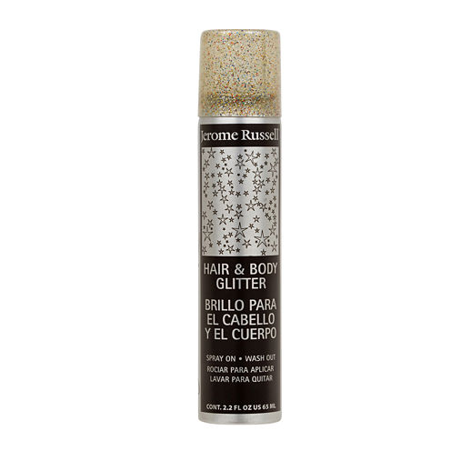 Jerome Russell Temp'ry Hair and Body Glitter Spray - 2.2 oz.