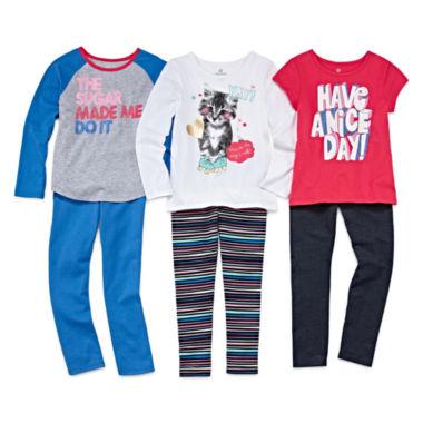 jcpenney.com | Okie Dokie® Tees or Leggings - Preschool Girls 4-6x