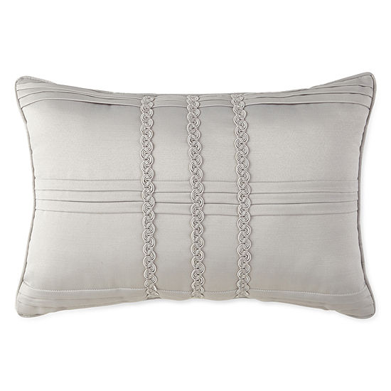 Liz Claiborne Kimono Oblong Pleated Decorative Pillow