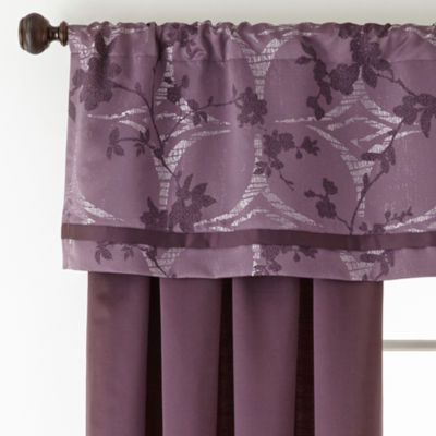 Liz Claiborne® Kimono 2-pk. Rod-Pocket Curtain Panels