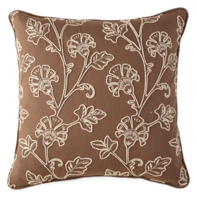 JCPenney Home™ Tapestry Stripe Square Decorative Pillow