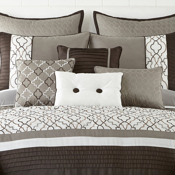 Home Expressions™ Reagan 10-pc. Comforter Set