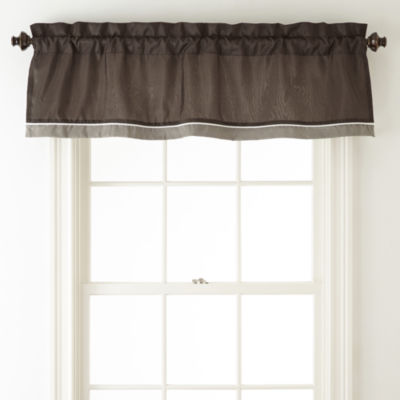 Home Expressions™ Reagan Rod-Pocket Valance