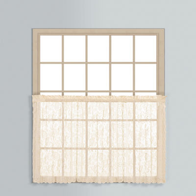 United Curtain Co. Rod-Pocket Window Tiers
