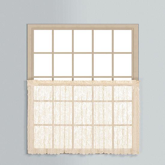 United Curtain Co. Rod-Pocket Window Tiers