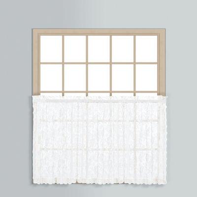 United Curtain Co. Windsor Rod-Pocket Window Tiers