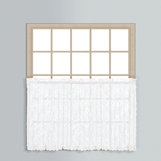United Curtain Windsor Rod-Pocket Window Tiers