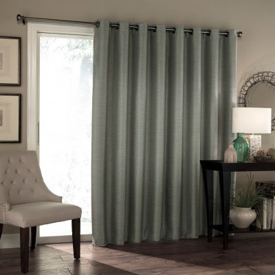 "Eclipse Blackout Grommet-Top 84"" Patio Door Curtain"