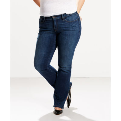 Plus size levi's 512 perfectly slimming bootcut jeans