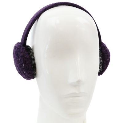 Cuddl Duds Super Cozy and Ultra Soft 2-Tone Color Knit Earmuff