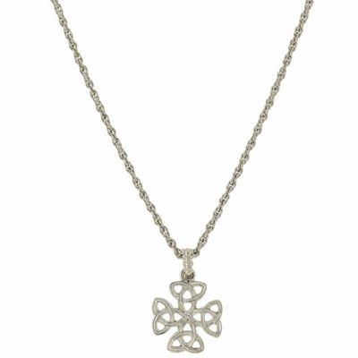 1928 Symbols Of Faith Religious Jewelry Womens Cross Pendant Necklace