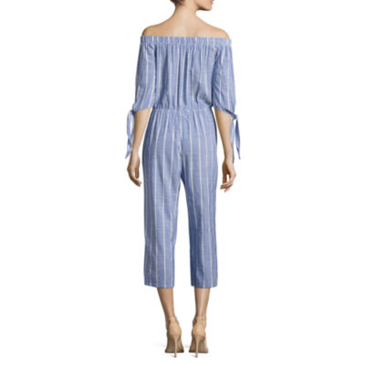 Kelly Renee 3/4 Sleeve Off The Shoulder Jumpsuit