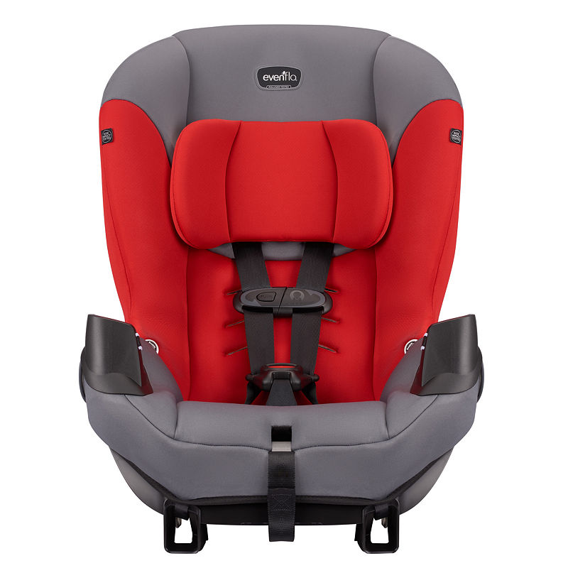 Evenflo Sonus Convertible Car Seat, Red Black, One Size