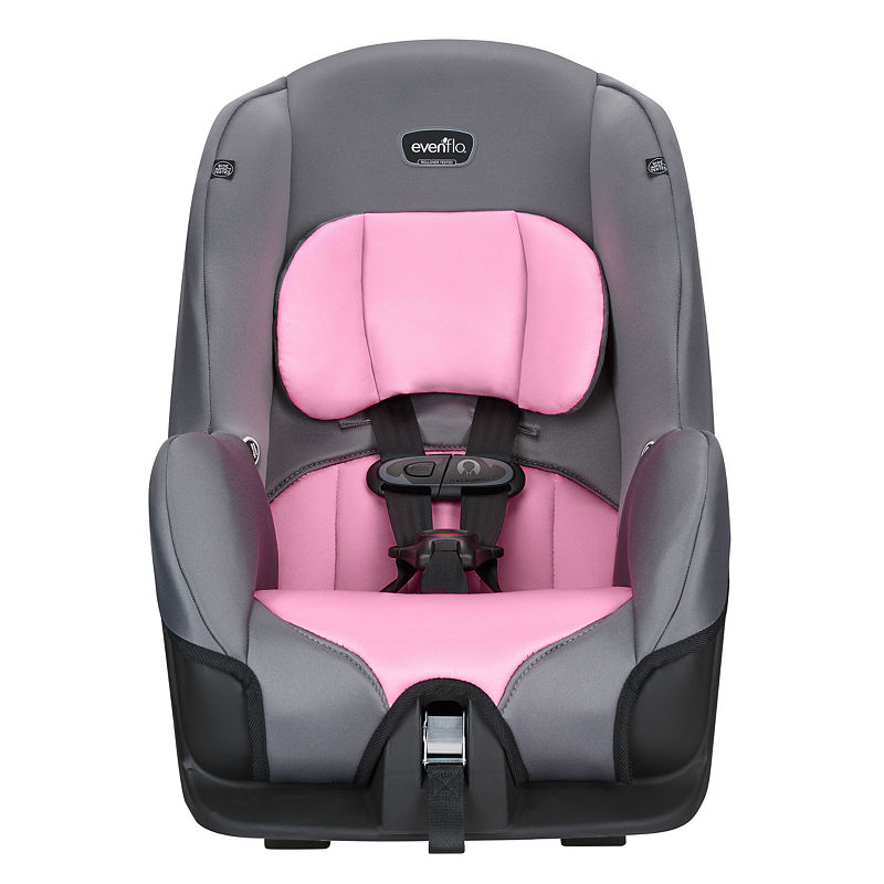 Evenflo Tribute Convertible Car Seat, Unisex, One Size, Pink Gray