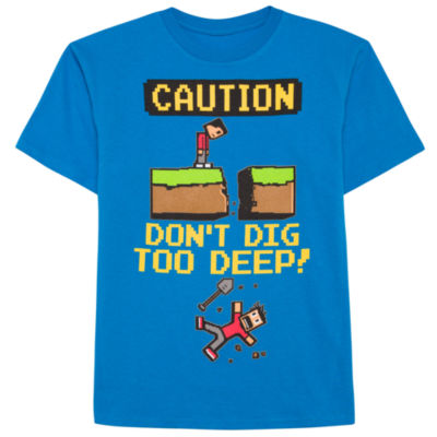 Oneliners Short Sleeve Crew Neck T-Shirt-Big Kid Boys