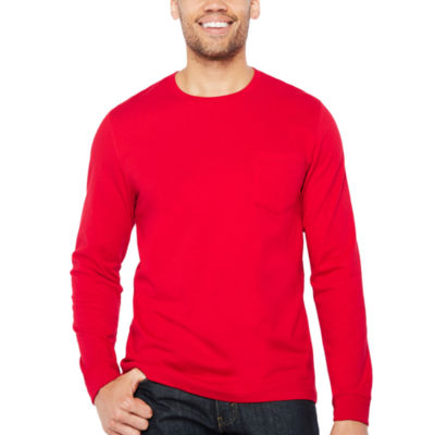 Big Mac Long Sleeve Crew Neck T-Shirt-Tall
