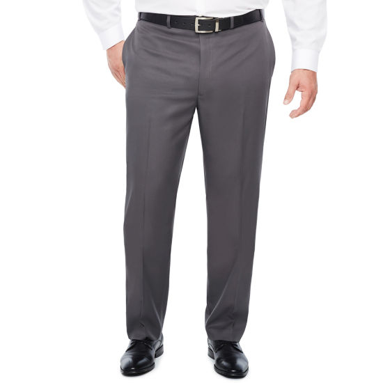 Collection by Michael Strahan  Classic Fit Flat Front Pants-Big and Tall