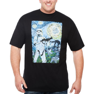 Short Sleeve Star Wars Tv + Movies Graphic T-Shirt-Big and Tall