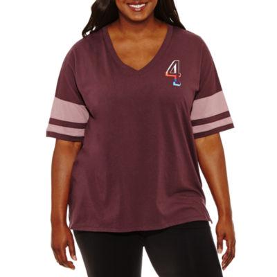 Flirtitude NY Graphic T-Shirt- Juniors Plus
