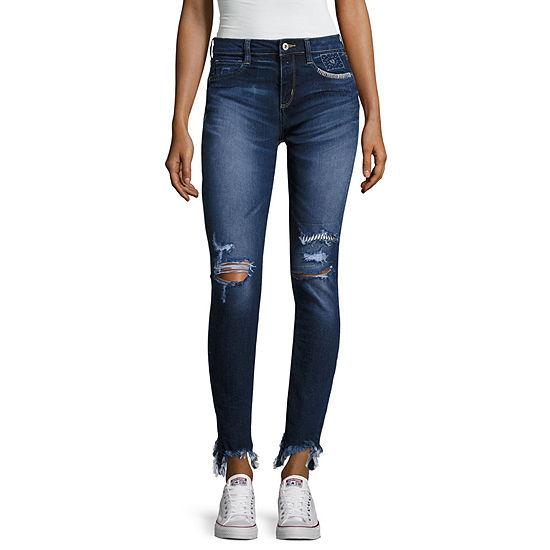 Arizona - Juniors Womens Low Rise Skinny Fit Jean