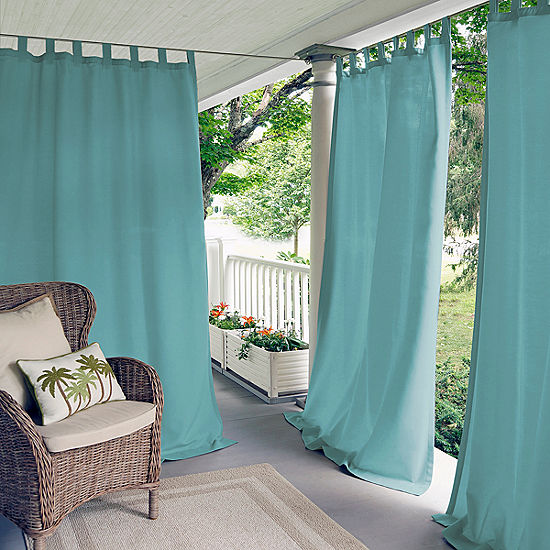 Matine Tab Top Indoor Outdoor Curtain Panel