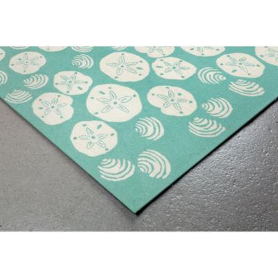 Liora Manne Frontporch Shell Toss Hand Tufted Rectangular Rugs