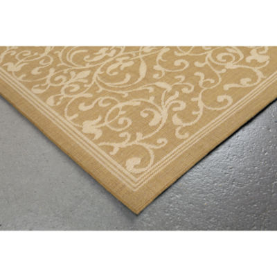 Liora Manne Terrace Scroll Vine Round Rugs