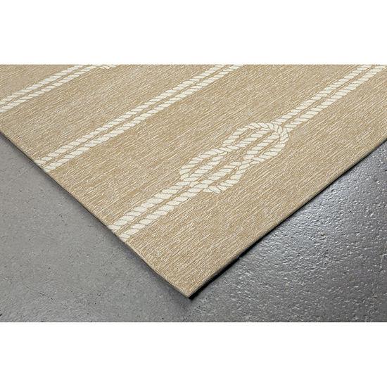 Liora Manne Capri Ropes Hand Tufted Rectangular Indoor/Outdoor Rugs