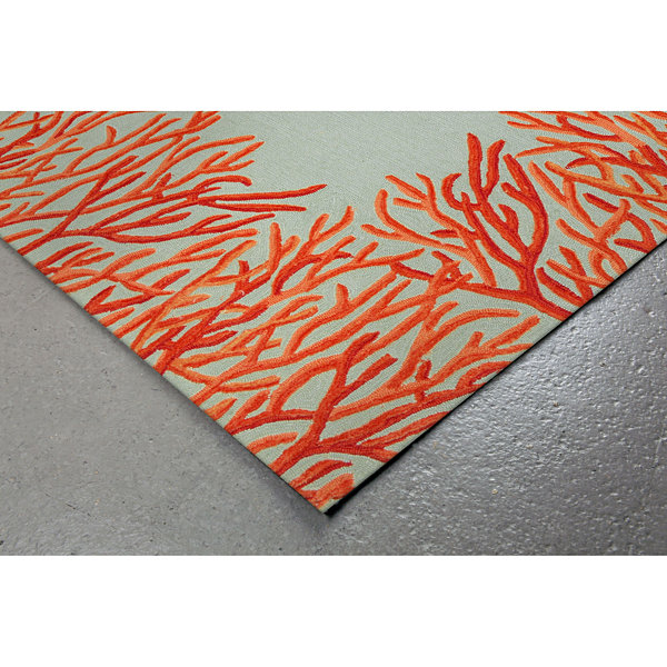Liora Manne Spello Coral Hand Tufted Rectangular Rugs