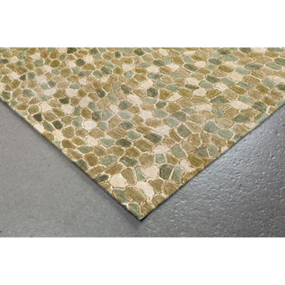 Liora Manne Spello Pebbles Hand Tufted Rectangular Runner