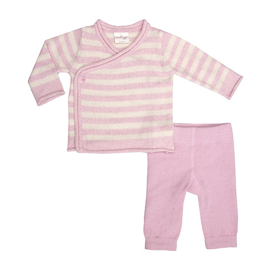 Cuddl Duds Baby Girls 2-pc. Pant Set