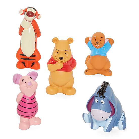 Disney Collection 5 Pk Winnie The Pooh Bath Play Set