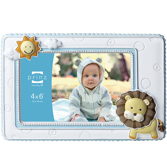 """Born To Be Wild Lion 4x6"""" Picture Frame"""