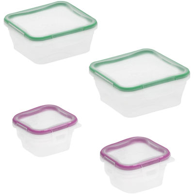 Snapware® Total Solution 8-pc. Plastic Food Storage Set