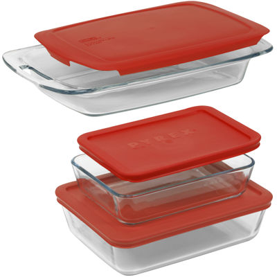 Pyrex® 6-pc. Easy Grab Bakeware Set