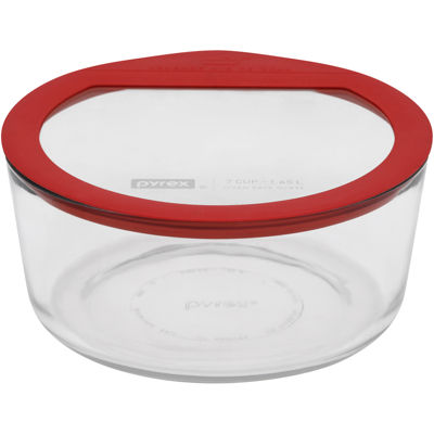 Pyrex® 7-cup No-Leak Glass Food Storage Dish