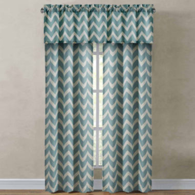 jcpenney.com | Richloom Rhodes Chevron Rod-Pocket Window Treatments