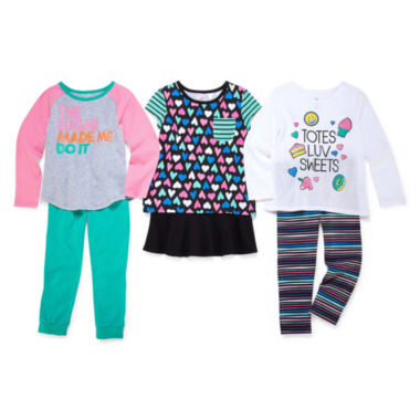 jcpenney.com | Okie Dokie® Tees or Pants - Toddler Girls 2t-5t
