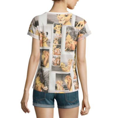 Disney Collection Short-Sleeve Roll Cuff Tee