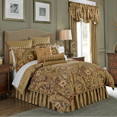 jcpenney king size bedding croscill classics 174 ashton 4 pc comforter set jcpenney 15671